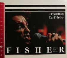 ADESIVI/Sticker: Fisher hi-fi carfidelity (270417153)