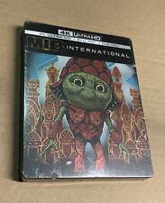 Men In Black: International Steelbook (4K, Blu-ray, Digital Hd) New!