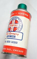 CAN VINTAGE SCHWINN OPAL GREEN BICYCLE PAINT CAN