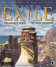 (PC) - MYST III - EXILE - NEUWARE!