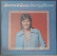 MARTY RHONE - DENIM & LACE 1975 M7 RECORDS MLF127 OZ POP ROCK VINYL