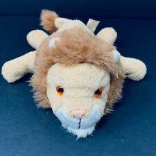Vintage Ganz Tommy the Lion Mini Bean Bag Plush Tan Stuffed Animal 1996 CH1490