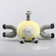 """Pokemon Yellow Magnemite Plush Toy SoftStuffed Animal Doll 15"""" Figure"""