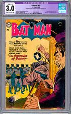 BATMAN #85 CGC 3.0 BOB KANE ART SHELDON MOLDOFF STAN KAYE COVER JOKER APP 1954