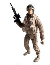 "HM ARMED FORCES 10"" Soldier Army Military Action toy Man figure NICE!"