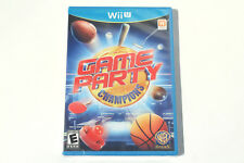 Game Party Champions (Nintendo Wii U) Brand New - Factory Sealed