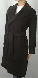 Ralph Lauren Brown Camel Hair Belted Coat Jacket Trench Overcoat NWT $590
