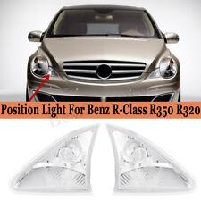 Front L+R Side Position Light Parking Lamp NO Bulb For Mercedes R320 R350 R500