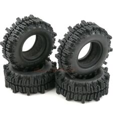 4pcs RC 1.9 Mud Slingers Tire Crawler tyre OD 93mm/3.66inch Fit 1.9 Beadlock rim