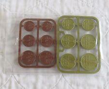 IRELAND 12 COIN PLASTIC PRE EURO SCHOOL SET PACK  - unused