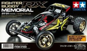 Tamiya 47460 1/10 RC 2WD Buggy DT-01 Chassis Fighter Buggy RX Memorial Kit
