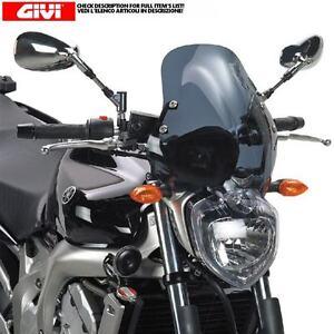 GIVI DEFENSAS MOTOR TN358 COMPATIBLE YAMAHA FZ6 600 FAZER S2 2007 07 2008 08 2009 09