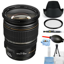 Canon EF-S 17-55mm f/2.8 IS USM Zoom Lens #1242B002 STARTER BUNDLE BRAND NEW