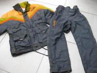 Retro vintage ELLESSE hi tech SKI SUIT size Ladies UK 12 14 mens small medium