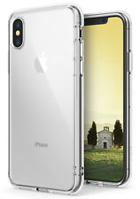 Apple iPhone X Case, Ringke [FUSION] Shockproof Protective Crystal Clear Cover