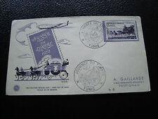 TUNISIE - enveloppe 1er jour 8/3/1952 (journee du timbre) (cy54) tunisia