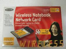 Belkin F5D7010 (722868462386) Wireless Adapter Cardbus wireless 802.11b 54 Mbps