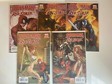 Spider-man Red Sonja, 1-5 Complete Set, Marvel - Dynamite, 2007-2008, Nice Lot !