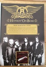 AEROSMITH 'Honkin On Bobo' 2004 magazine ADVERT/Poster/clipping 11x8 inches