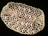 Antique Lace Cuff Crochet Remnant Salvage Doll Blythe Sewing Clothes Primitive
