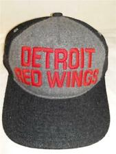 New Detroit Red Wings Mens OSFA  Flatbrim Snapback Mitchell & Ness Hat $24