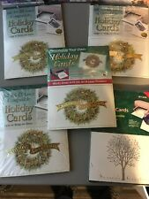 Lot of Ampad Personalize Your Own Holiday Cards - 20 pk x 5 - Laser/Ink jet