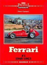 FERRARI formula one cars 1948-1963 125 375 500 625 553-555 D50 246 156 sharknose