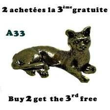 Chat laiton / Brass cat
