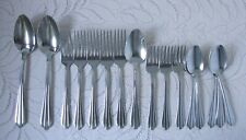 New listing Vintage National Stainless N S Co Flatware Lot Nst23 Nst 23