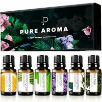 Essential oils 100% Pure Therapeutic Grade Top 6 Aromatherapy  Set-6 Pack, 10ML