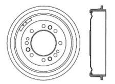 Brake Drum Front Centric 123.65016