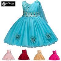 Vestito Damigella Cerimonia Abito Bambina Girl Party Bridesmaid Dress CDR088