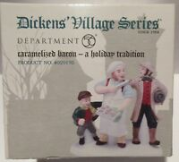 Dept 56- Dickens Village- Accessory- Caramelized Bacon-A Holiday Tradition- NIB