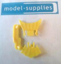 Corgi Junior 1006 Chitty Chitty Bang Bang repro front/rear yellow plastic fans