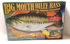 Vintage~1998 Big Mouth Billy Bass Singing Fish, Motion activated New In Box