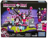 Monster High Mega Bloks Draculauras Birthday Bash Set - Figurine 153 Pcs - NEW