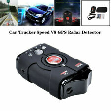 Car Radar Detector Auto 360 Degree Vehicle V8 Speed Voice Alert X-Band All Laser