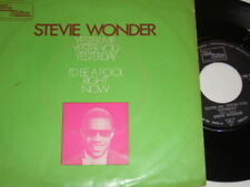 "7"" - Stevie Wonder Yester me Yester you Yesterday # 1444"