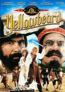 Yellowbeard DVD 1983 Cheech & Chong - RARE John Cleese - Adventure Comedy