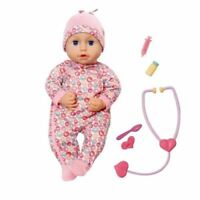 Baby Annabell Milly Feels Better Baby Doll 43 cm