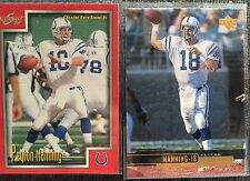 PEYTON MANNING 1999 card lot Upper Deck #88 Score #170 Colts Broncos NFL