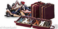 Portable Shoe Tote Store & Protect up to 6 Pairs of Shoes