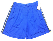 Champion Active Performance Mens Sport Mesh Athletic Shorts Blue XXL Big & Tall