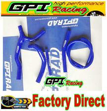 FOR SUZUKI RM 125 RM125 1992 1993 1995 92 93 silicone radiator hose blue