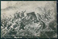 Militari 19º Regg Artiglieria Gavinana 1936 RETRO BIANCO FG cartolina XF7235