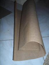 TISSU ANCIEN TOILE DE JUTE EMBOURRURE TAPISSERIE SIEGE BURLAP FABRIC 2m x 0.70cm