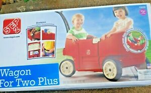 Step2 Wagon For Two Plus Wagon, Red - Brand New In Box