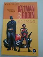 BATMAN & ROBIN: BATMAN REBORN TPB DC COMICS 2011 1ST PRINT! BRAND NEW UNREAD!