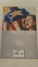 Civil War Frontline #9 December 2006 Marvel Comics Jenkins Bachs Lieber Weeks
