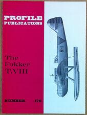 Aeronautica - Aviation - Profile Publications - N° 176 - The Fokker T. VIII